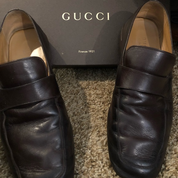 37f035a40 Gucci Shoes | Quentin Loafers In Cocoa Size 10 Mens | Poshmark